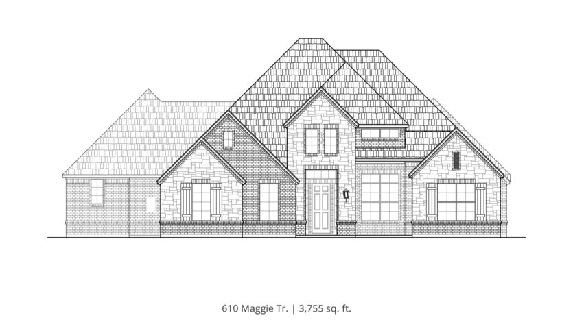 Our Country Homes Brockdale Estates subdivision 601 Maggie Trail Lucas TX 75002