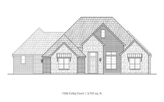 Our Country Homes Brockdale Estates subdivision 1506 Colby Court Lucas TX 75002