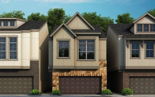 David Weekley Homes Oak Park Villas subdivision 5315 Teak Mill Place Dallas TX 75209