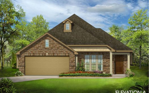 Bloomfield Homes Country Lakes subdivision 8904 Conroe Drive Argyle TX 76226
