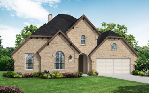 Coventry Homes Barrington at Lantana 50s subdivision 1401 Haverford Ln Lantana TX 76226