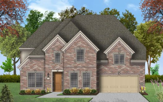 Coventry Homes Edgestone at Legacy subdivision 4155 Vivion Drive Frisco TX 75034