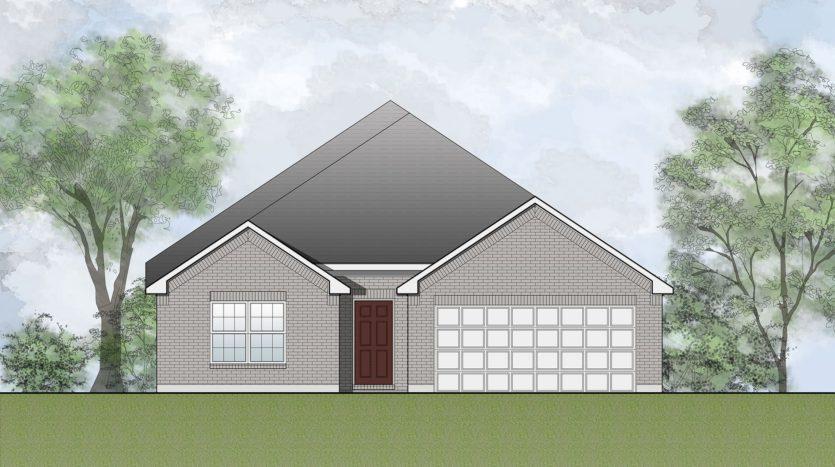 Drees Custom Homes Timber Creek subdivision 3705 Silent Water Street McKinney TX 75071