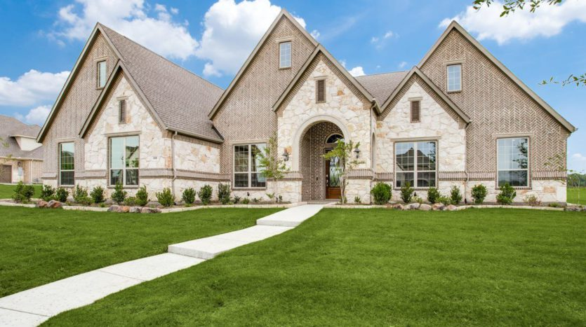 Village Builders Gean Estates subdivision 805 Secretariat Trail Keller TX 76248