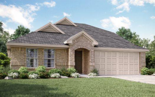 Lennar Overland Grove Classic subdivision 1108 Garden Grove Lane Forney TX 75126