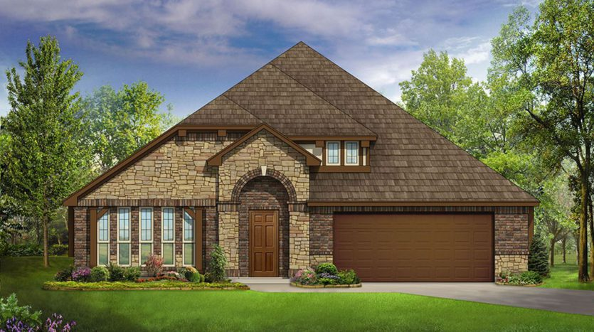 Bloomfield Homes Devonshire subdivision 1226 Abbeygreen Road Forney TX 75126