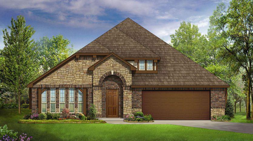Bloomfield Homes West Crossing subdivision 908 Edinburgh Drive Anna TX 75409