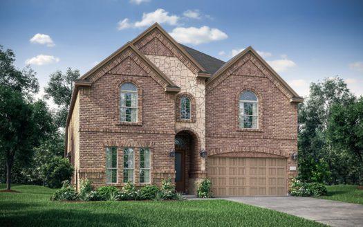 Village Builders Bradford Park 50' subdivision 5548 Winter Haven Bend Flower Mound TX 75028
