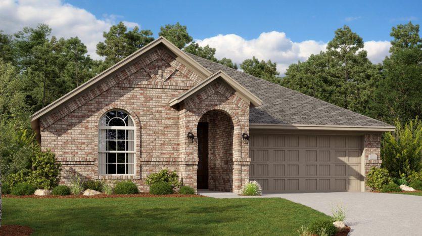 Lennar Riverplace Brookstone subdivision 5458 Windsong Way Garland TX 75040