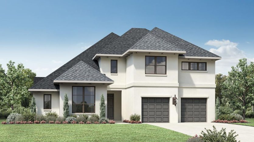 Toll Brothers Pecan Square subdivision 905 Overland Court Northlake TX 76247