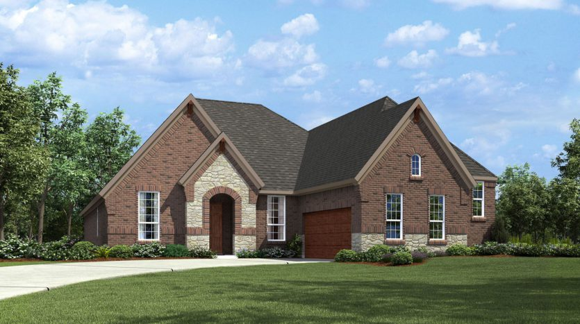 Drees Custom Homes Viridian subdivision 1344 Viridian Park Lane Arlington TX 76005