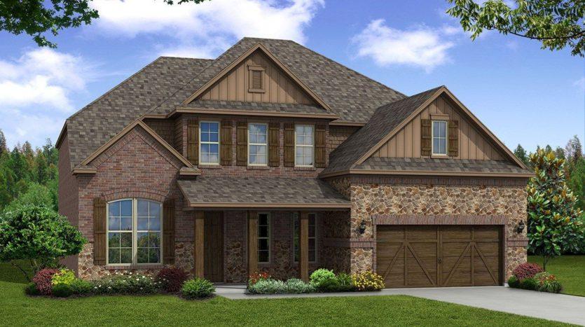 Beazer Homes Dove Creek - Traditions 65' subdivision 13806 Azul Lane Frisco TX 75035