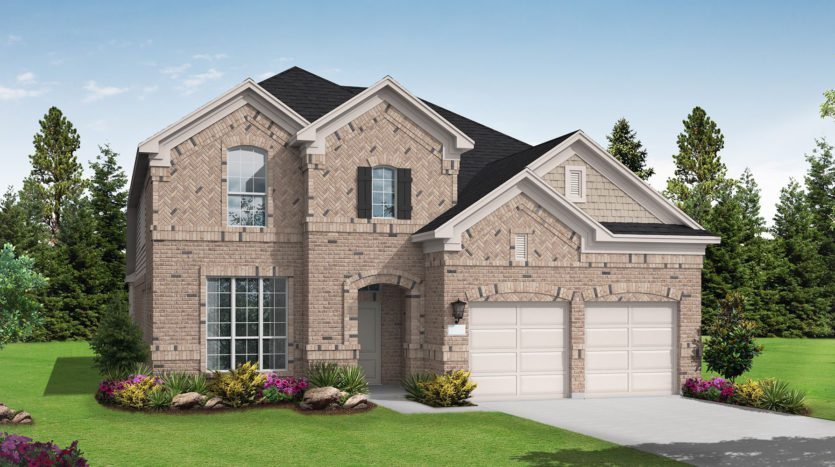 Coventry Homes Canyon Falls 60' subdivision 204 Big Sky Cr Northlake TX 76226