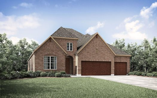 Drees Custom Homes Trinity Falls subdivision 909 Lost Woods Way McKinney TX 75071