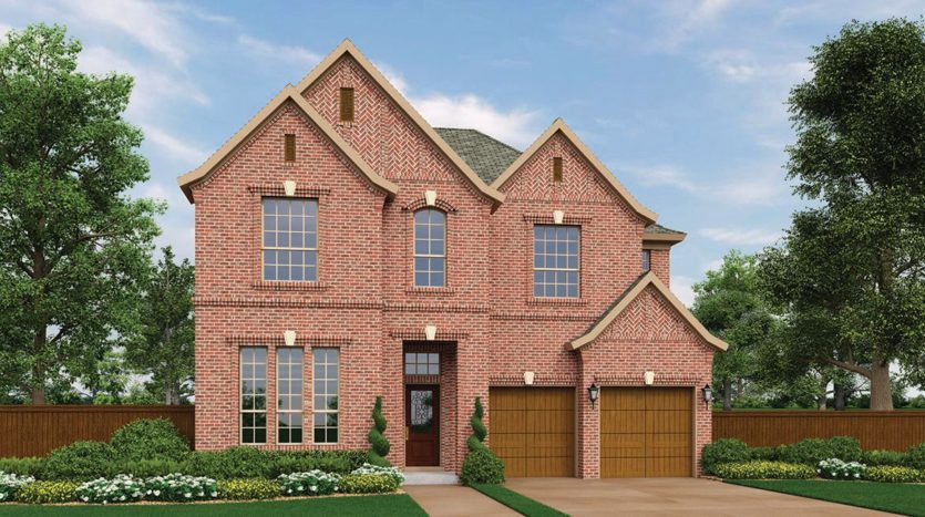 Village Builders Westhaven 50' subdivision 770 Wingate Road MODEL Coppell TX 75019