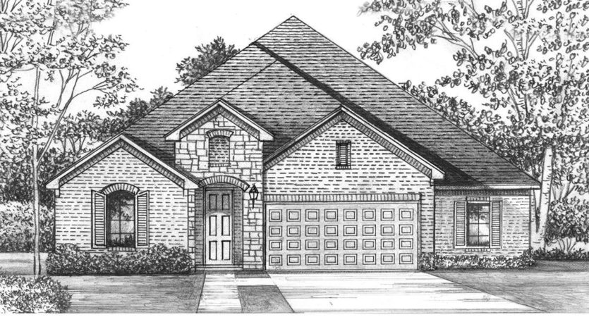 Shaddock Homes Lakewood at Brookhollow - 74' Lots subdivision 3001 Meadow Dell Drive Prosper TX 75078