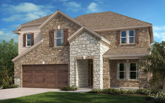 KB Home Creeks of Legacy subdivision 3405 Osage River Trl. Prosper TX 75078
