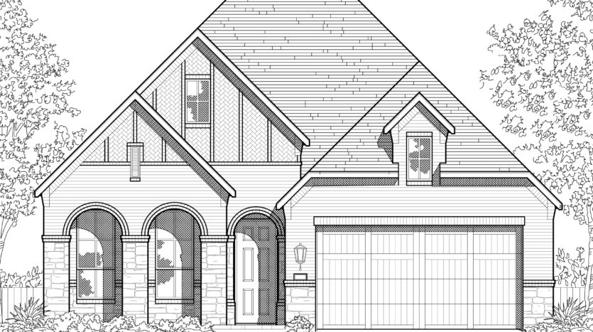 Highland Homes Devonshire: 50ft. lots subdivision 1517 Calcot Lane Forney TX 75126