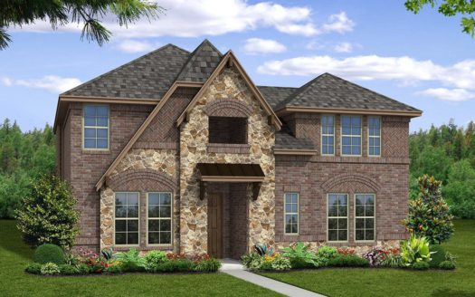 Beazer Homes Dove Creek - Terraces 55' subdivision 13806 Azul Lane Frisco TX 75035