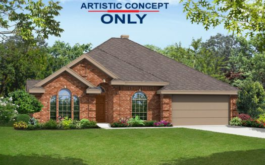 First Texas Homes Bluewood subdivision 926 Indigo Lane Celina TX 75009