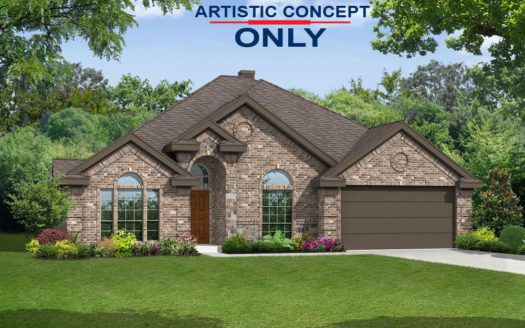 First Texas Homes Spring View Estates subdivision Prestwick Drive Frisco TX 75033
