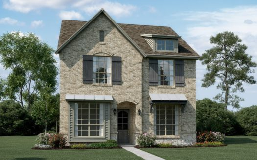 K. Hovnanian® Homes Villas at the Station subdivision PGBT and Merritt Road Sachse TX 75048
