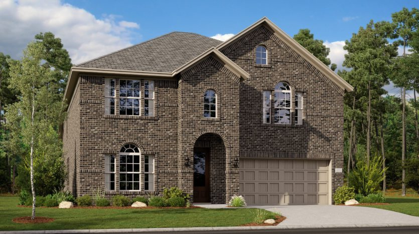 Lennar Riverplace Brookstone subdivision 5458 Windsong Way Garland TX 75040