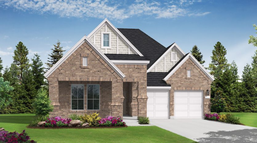 Coventry Homes The Ridge subdivision 2822 Silver Leaf Dr Northlake TX 76226