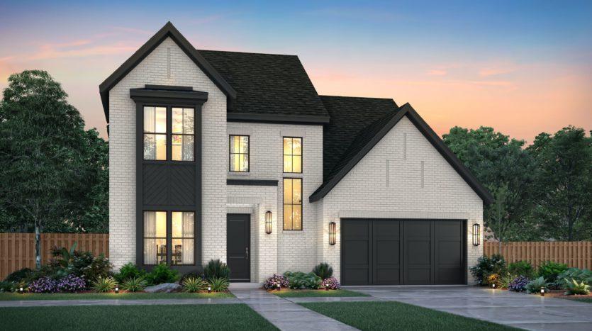 Southgate Homes The Grove 65's Series subdivision 15375 Viburnum Rd Frisco TX 75035