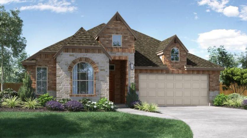 Pacesetter Homes Texas Meadow Run subdivision 2601 Lovegrass Lane Melissa TX 75454