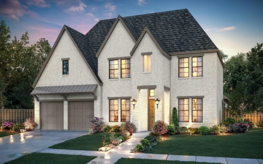 Southgate Homes Windsong Ranch 71 Series subdivision 4280 Bonner Court Prosper TX 75078