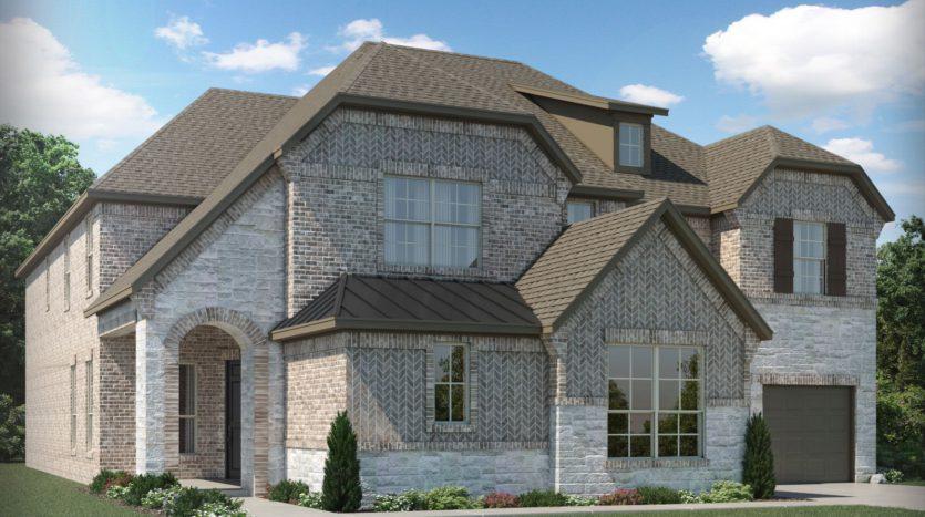 Meritage Homes The Ridge at Northlake subdivision 1121 Orchard Pass Northlake TX 76226