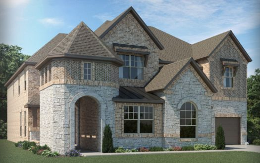 Meritage Homes Hills at Legacy - Highland Series subdivision 2471 Bottlebrush Drive Prosper TX 75078