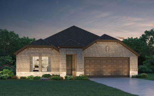 Meritage Homes ArrowBrooke - Classic Series subdivision 3321 Evening View Aubrey TX 76227