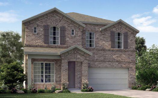 Meritage Homes Ranch Park Village - Texana Series subdivision 4141 Ranchero Drive Sachse TX 75048
