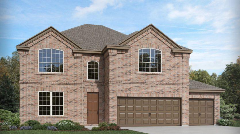 Meritage Homes ArrowBrooke - The Estate Series subdivision 3216 Grande View Aubrey TX 76227