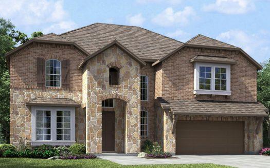 Meritage Homes The Ridge at Northlake subdivision 1312 Huckleberry Street Northlake TX 76226