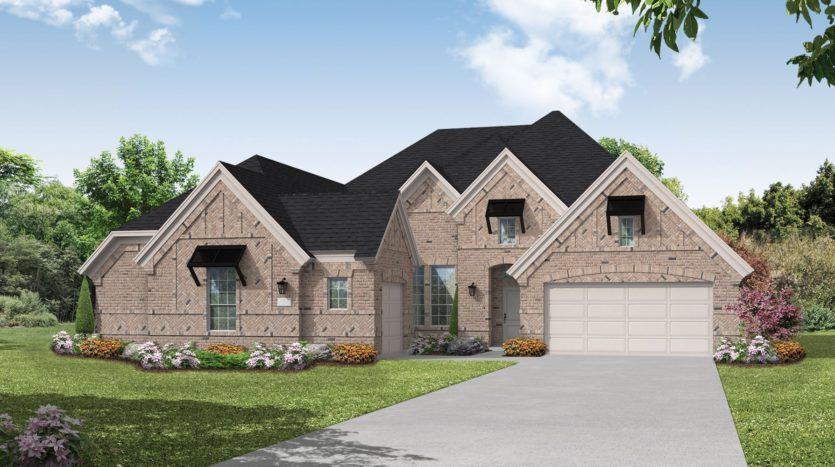 Coventry Homes Mustang Lakes subdivision 2607 Maverick Way Celina TX 75009