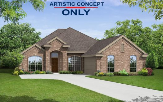 First Texas Homes Creeks of Legacy subdivision 3001 Comal Court Prosper TX 75078
