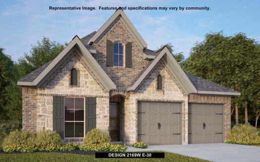 Perry Homes Prairie Oaks 45' subdivision 9413 LONGHORN LANE Oak Point TX 75068