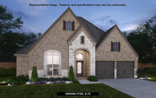 Perry Homes Lakewood at Brookhollow 55' subdivision 810 FOXFIELD COURT Prosper TX 75078