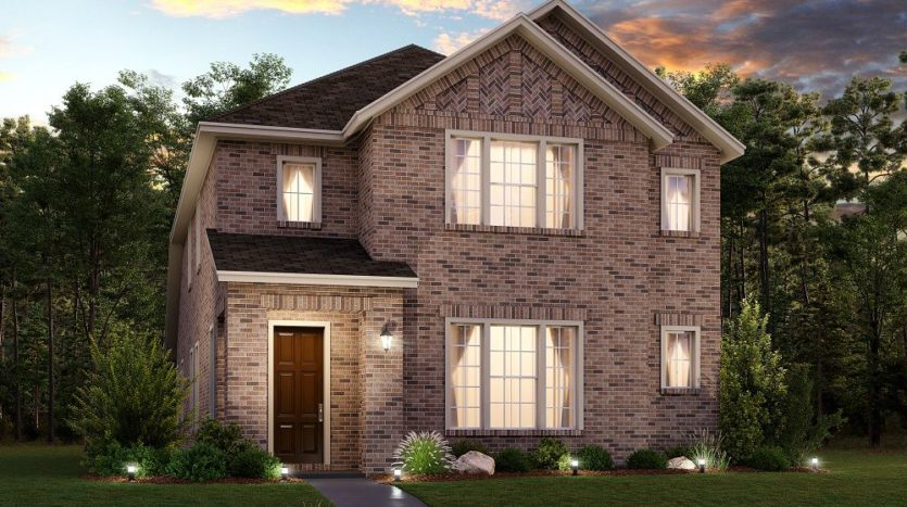 Ashton Woods Pecan Square subdivision 2541 Elm Place Northlake TX 76247