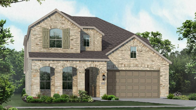 Highland Homes Union Park: Artisan Series - 50ft. lots subdivision 1101 Cottonseed Street Aubrey TX 76227