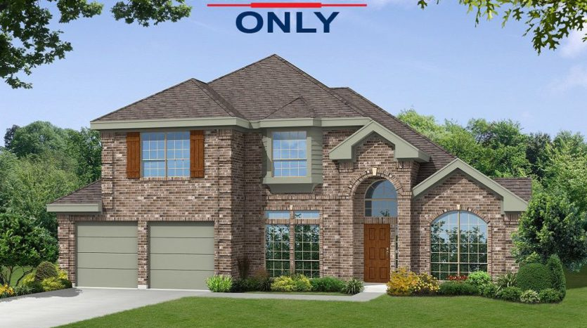 Gallery Custom Homes Woodbridge Estates subdivision 605 Sierra Lane Wylie TX 75098