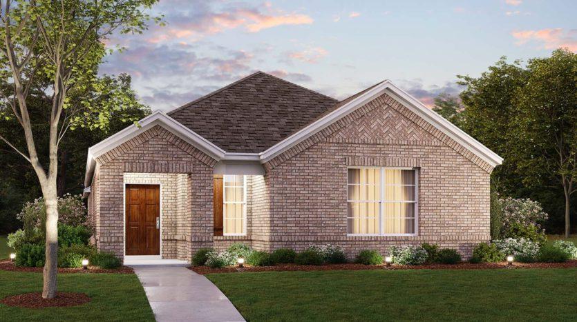 M/I Homes Harvest subdivision 708 Streetside Lane Argyle TX 76226
