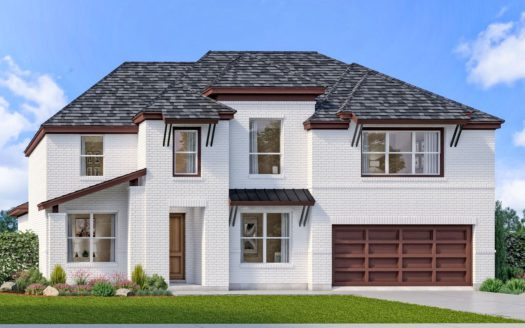 Landon Homes Lexington Country Classic Series subdivision 13103 Strike Gold Blvd Frisco TX 75035