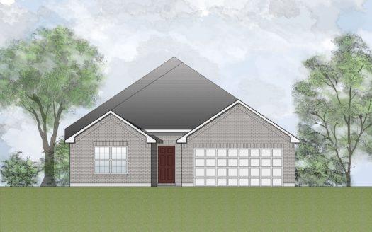 Drees Custom Homes Timber Creek 50's subdivision 2712 Oak Blossom McKinney TX 75071