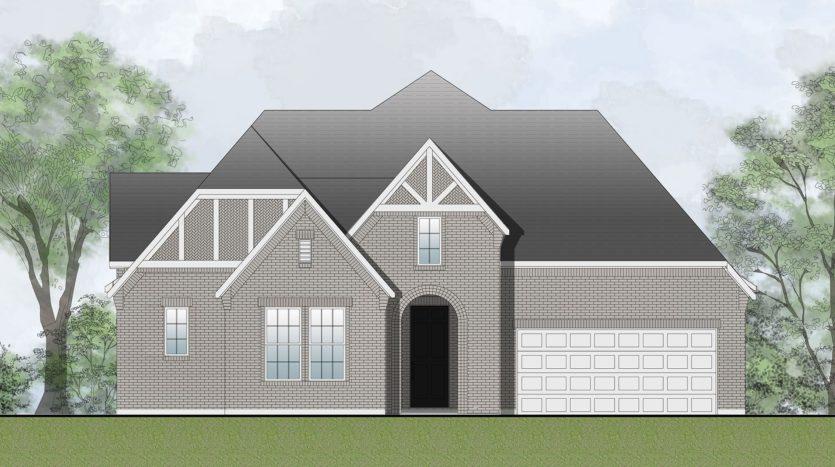 Drees Custom Homes Viridian - Elements subdivision 4804 Cypress Thorn Drive Arlington TX 76005
