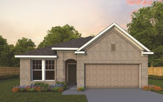 David Weekley Homes Parks at Rosehill subdivision 105 Thackery Road Garland TX 75043