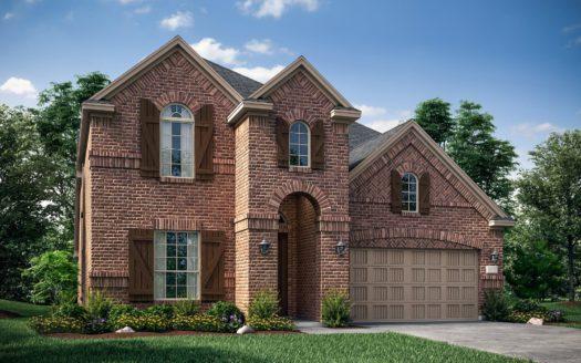 Lennar Lonestar Estates subdivision 2321 McMullin Drive Euless TX 76040